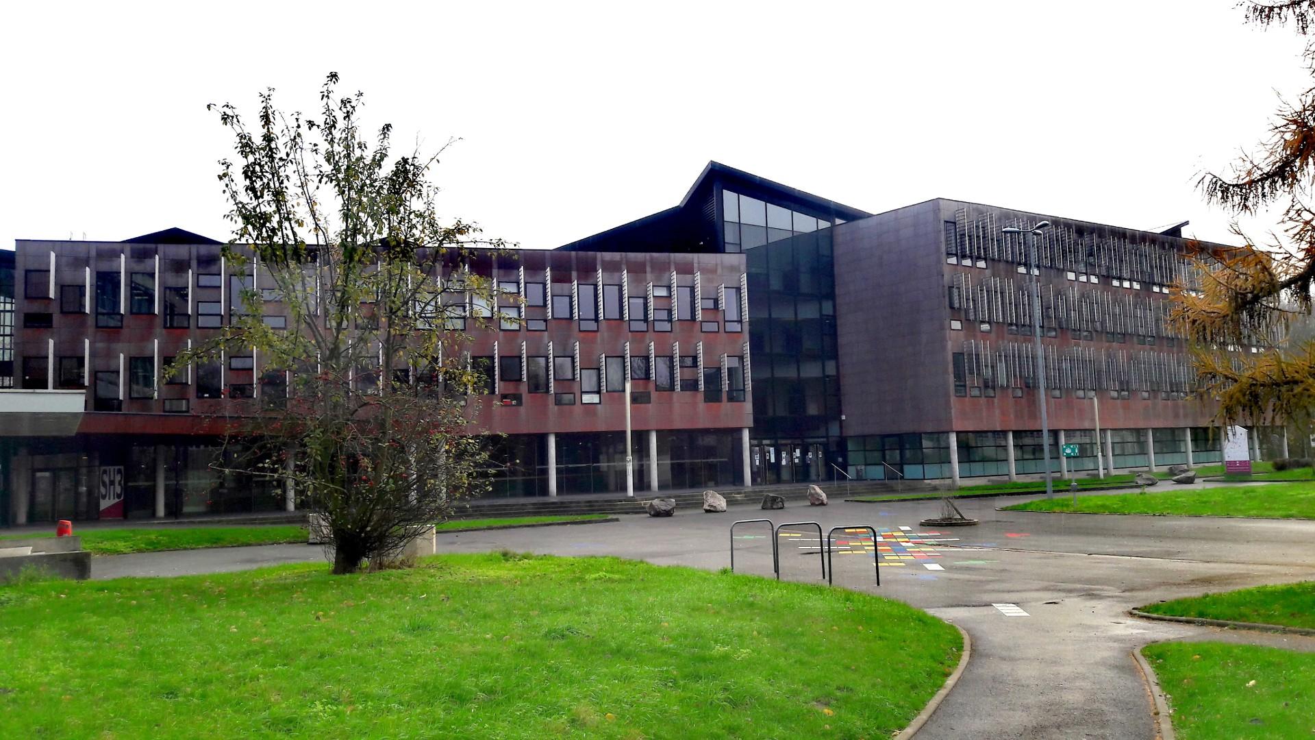 Le bâtiment SH3 (2/2)