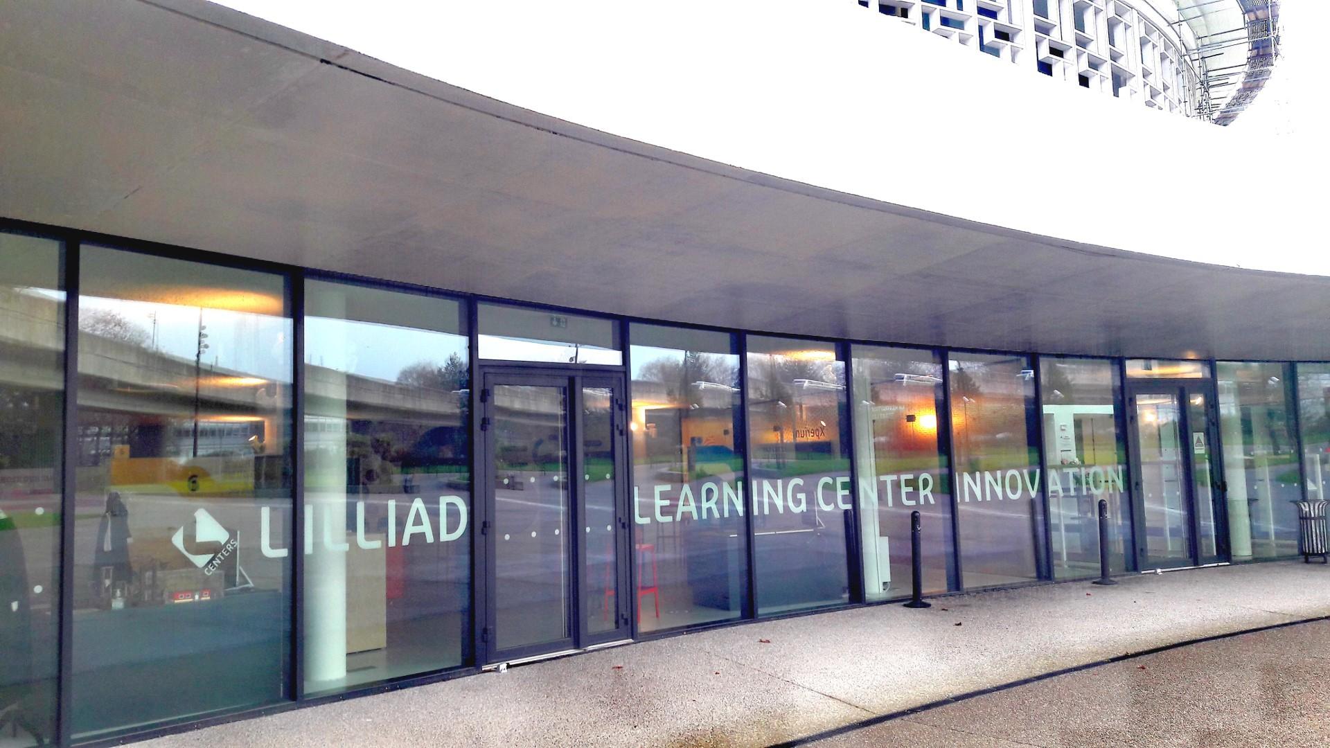 L'entrée de Lilliad