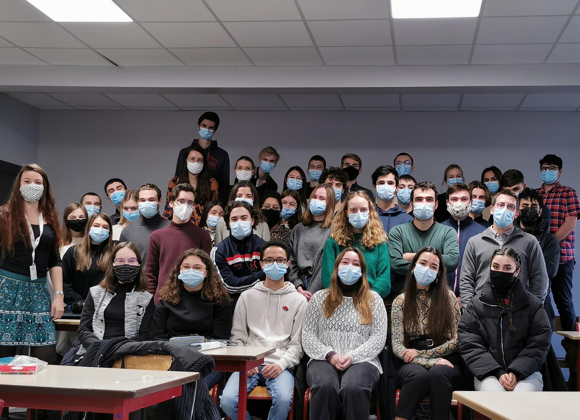 Photo de classe 2020